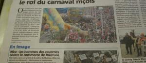 Article Nice Matin du 24 fevrier 2013