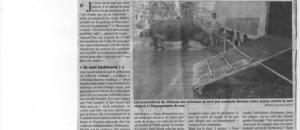 Samedi 12 octobre, manifestation à Villeneuve Loubet devant le cirque Muller