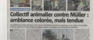 Cirque Muller, Villeneuve Loubet. Article paru le 13 octobre.