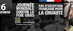 Journée mondiale contre le foie gras