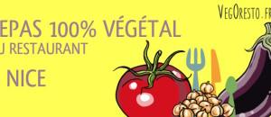 Premier repas découverte VegOresto à Nice ! Vendredi 20 mars