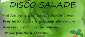 Disco Salade – 30 mai – Antibes