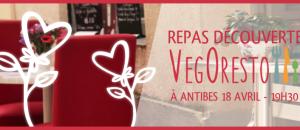 VegOresto / Repas végétalien au restaurant samedi 18 avril, 19:30 –  Antibes