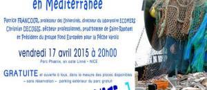 Conf – débat : Les enjeux de la pêche durable en méditerranée -17 avril
