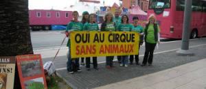 ACTION «Pour un cirque sans animaux – cirque Médrano – samedi 4 avril – 13h30