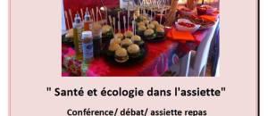 Santé et écologie dans l'assiette – le 22 mai, à ANTIBES