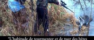 Une manifestation pour chasser les chasseurs!
