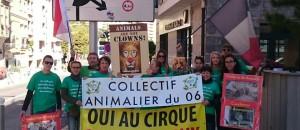Monaco: contre  les animaux dans les cirques…