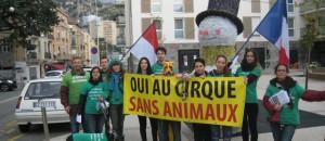 Pour un cirque sans animaux, à Monaco, le 23 janvier – LES PHOTOS