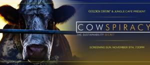 Le film COWSPIRACY PROJETÉ à GRASSE LE 22 JANVIER