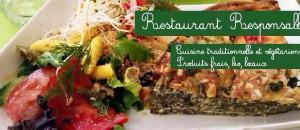 Venez découvrir une délicieuse et originale cuisine bio-végétale chez nos amis de La Belle Verte