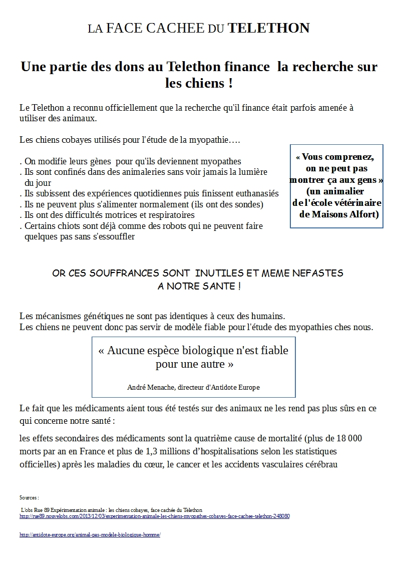 Telethon attention