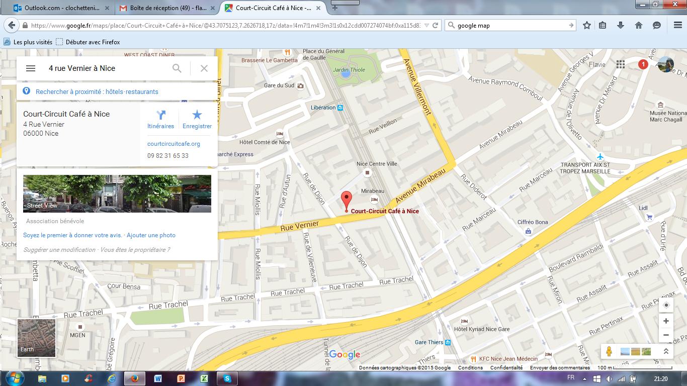 plan 4 rue vernier