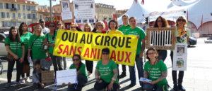 Actions pour des cirques sans animaux