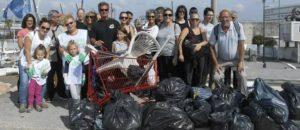 Opération nettoyage citoyens Cap 3000 st Laurent du Var